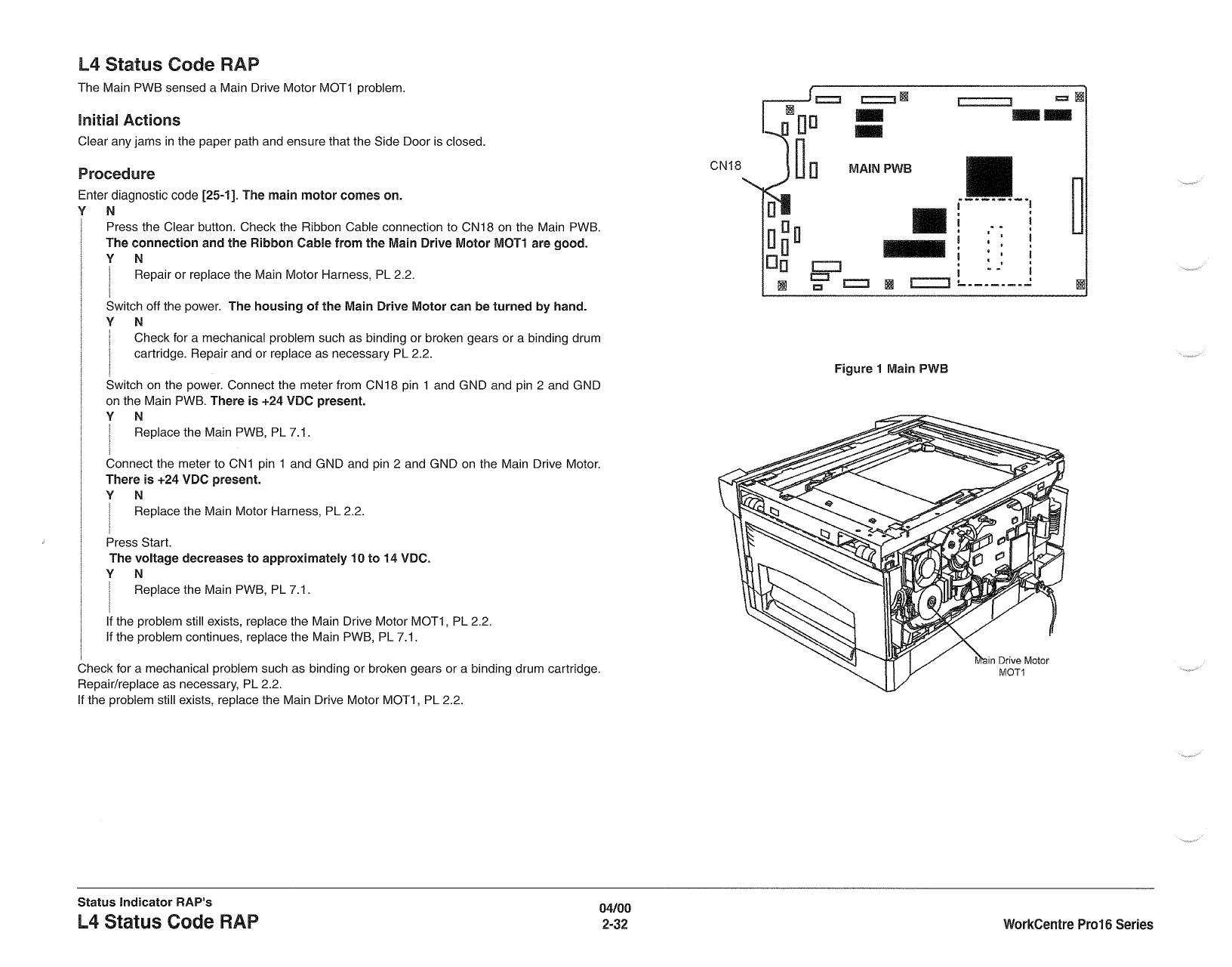 Xerox WorkCentre Pro-16 Parts List and Service Manual-2